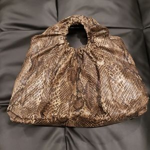 Snake shouder bag